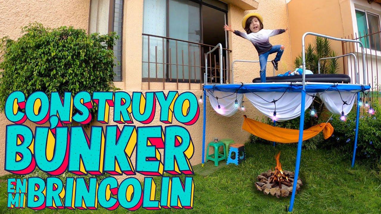 Download Construyo un BUNKER de 2 PISOS con mi Brincolin