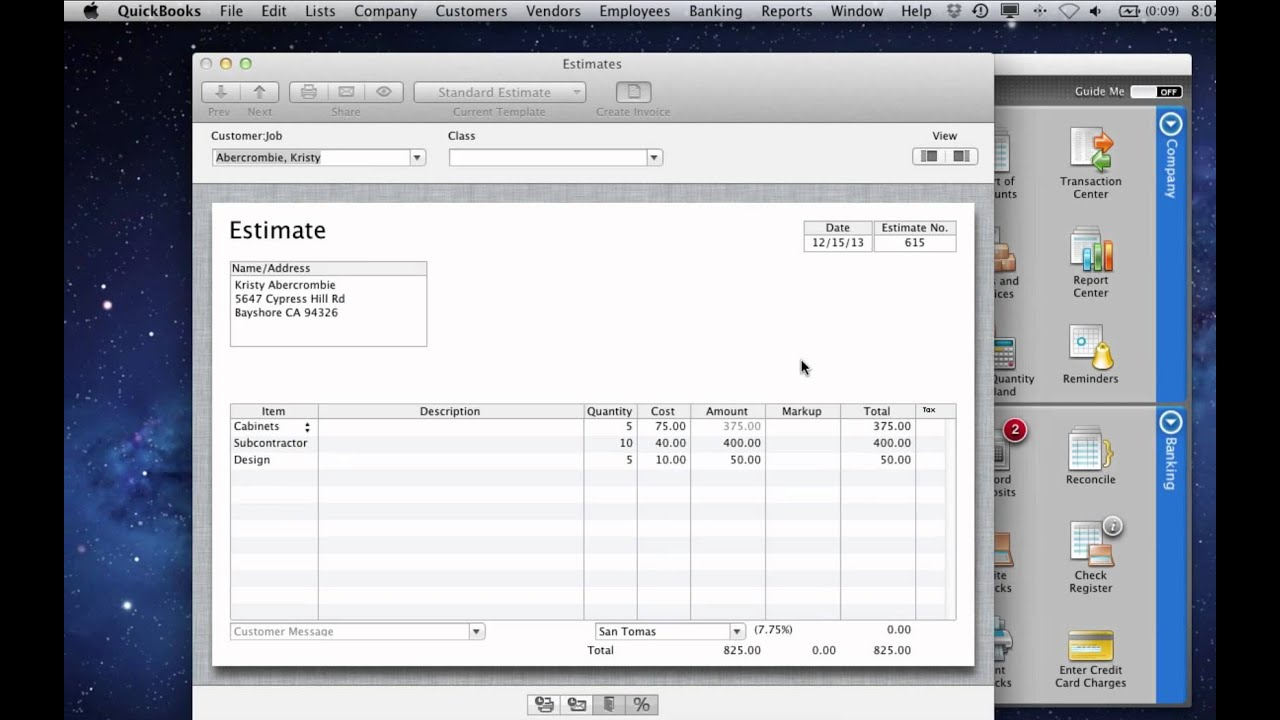 QuickBooks for Mac 2012  Progress Invoicing   YouTube QuickBooks for Mac 2012  Progress Invoicing