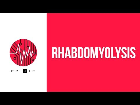 Rhabdomyolysis an easy overview