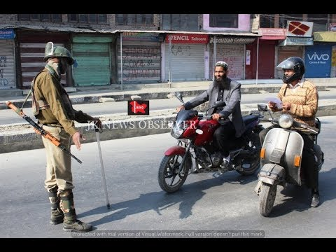Authorities imposed restrictions in parts of Srinagar city restrictions under Section 144. JKNO