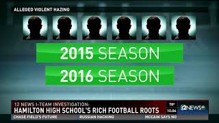 Hamilton High School football hazing timeline of events