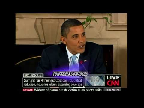 """Obama Demonizes """"ACME"""" Insurance Co For Not Covering His Liability-Insured Car During College"""