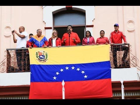 Presidente Maduro rompe relaciones diplomáticas con Estados Unidos