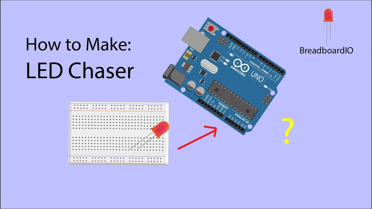 How To Make Led Chaser W Arduino Uno Youtube Circuit Explained Using 4017 Ic