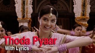 Thoda Thoda Pyar (Full Song With Lyrics) | Love Aaj Kal | Saif Ali Khan & D …
