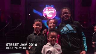 Street Jam 2016 Bournemouth 10's & Under Breakin Battle Bgirl Sammy vs 58 Quarter Final
