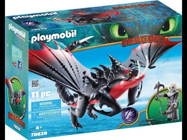 Playmobil Dragon 3, Ghostbusters et Magic