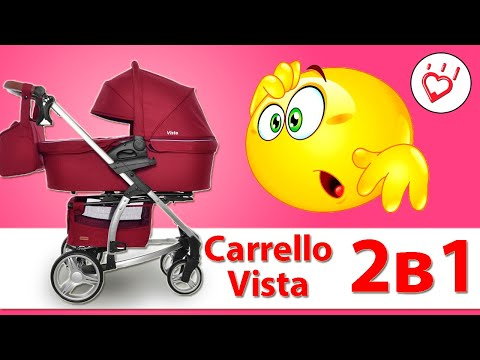 Carrello Vista 2 в 1 - универсальная коляска Каррелло Виста. Видео обзор