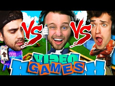 WHO IS THE BEST AT VIDEO GAMES?! ONE VS ONE VS ONE!