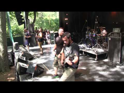HEAVY MONTREAL 2015 - ION DISSONANCE Live - 8/08/2015