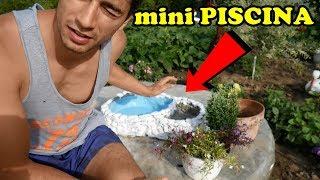 AM FACUT O NOUA PISCINA PENTRU PESTI - DIY Amazing Ideea Pool Garden
