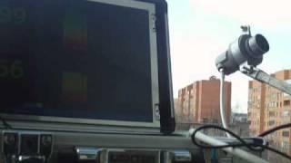 видео Панорамный индикатор для настройки спутниковых антенн
