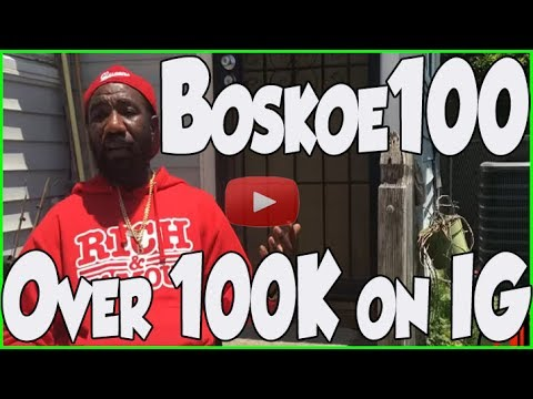 Queen Street Blood's Boskoe100 wants you to keep it 100 percent honest