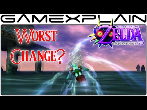 The Worst Change in Zelda: Majora's Mask 3D? (Zora Swimming)