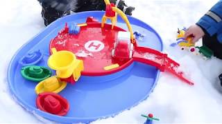 Viking toys chubbies vehicles harbour kids play