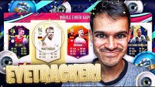 FIFA 19 : EYETRACKER FUT DRAFT !! 😂😂😂