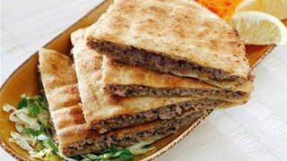 عرايس كفتة بالخبز اللبناني خطيييرة الطعم وسهلة التحضير...