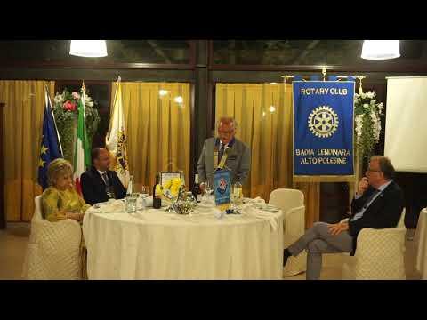 Discorso del Governatore Rotary Raffaele Caltabian...