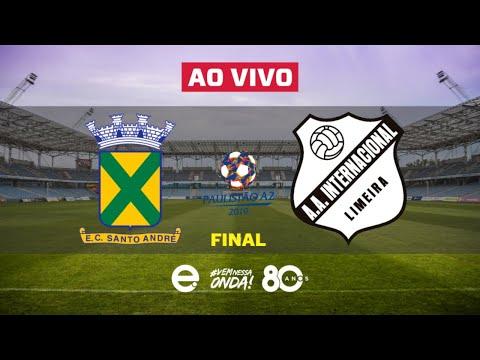 Santo André X Inter de Limeira Ao Vivo | Final Paulista A2 | 01-05-2019