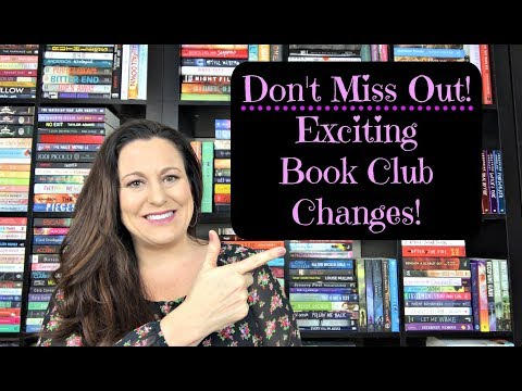 Exciting Book Club Changes / Deadly Diva's