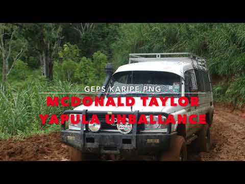 MCDONALD TAYLOR  -  YAPUAL UNBALLANCE  PNG MUSIC 2018 LATEST