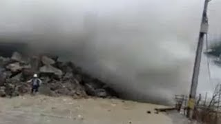 *Incredible Sight Dam Breaks In Colombia From Flooding*Kilauea Explodes Sending Ash 30k Feet In Air*