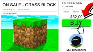 I PAID $62 FOR A GRASS BLOCK IN MINECRAFT.