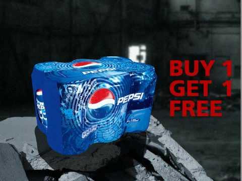 Anthony Richardson - OverVoice, Pepsi Commercial with The Black Eyed Peas