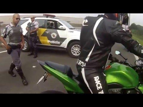 COMANDO NA ANHANGUERA MOTO GP  - KAWASAKI Z750