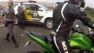 COMANDO NA ANHANGUERA MOTO GP  - KAWASAKI Z750 thumbnail
