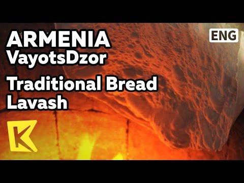 【K】Armenia Travel-VayotsDzor[아르메니아 여행-바요츠조르]전통 빵 라바시/Unesco/Lavash/Traditional/Bread/Fire pot/Areni