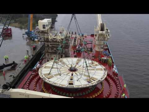 DeepOcean Carousel Installation - Maersk Connector