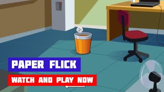 Paper Flick · Game · Gameplay