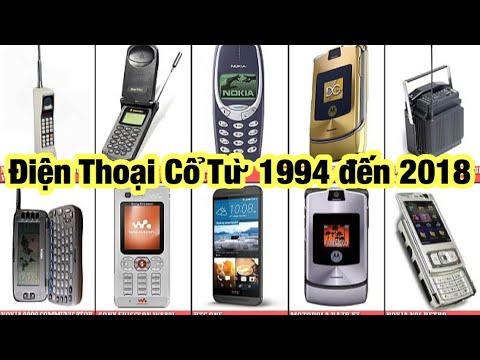 Các Dòng Điện Thoại Cổ Nokia từ năm 1994 đến 2018