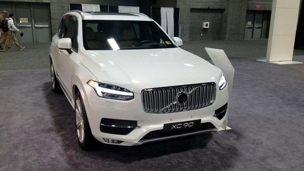 2019 volvo xc90 at 2018 washington auto show - youtube
