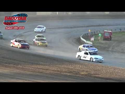 Dacotah Speedway IMCA Sport Compact Races (8/16/19)