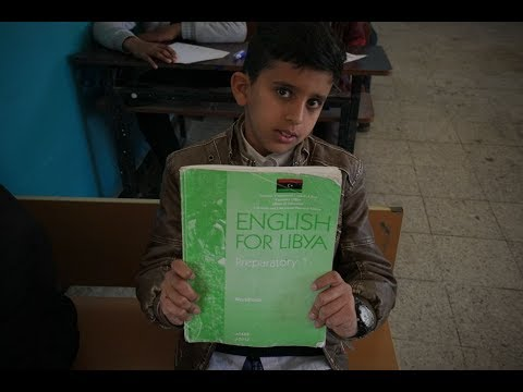 يونيسف تقدّم خدمات تعليمية لـ1800 طفل ليبي  - 07:54-2019 / 6 / 23