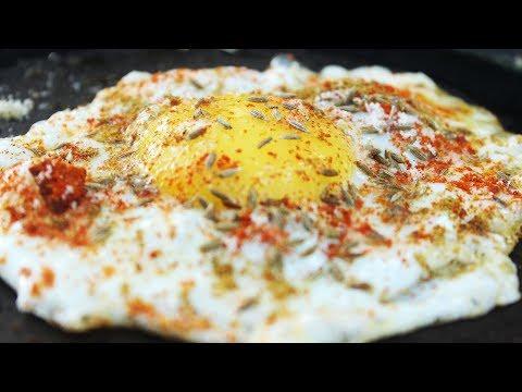How to make Half Boiled Egg Omelette    Myna Street Food