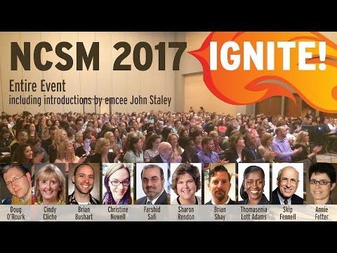 Ignite Event at NCSM 2017