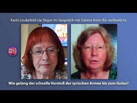Karin Leukefeld: Wie gelang der schnelle Vorstoß der syrischen Armee bis zum Golan?
