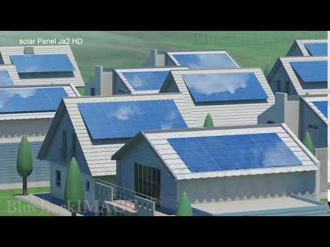 Solar Panels Renewable Energy Sun Power Green clean solar Panel Ja2 HD