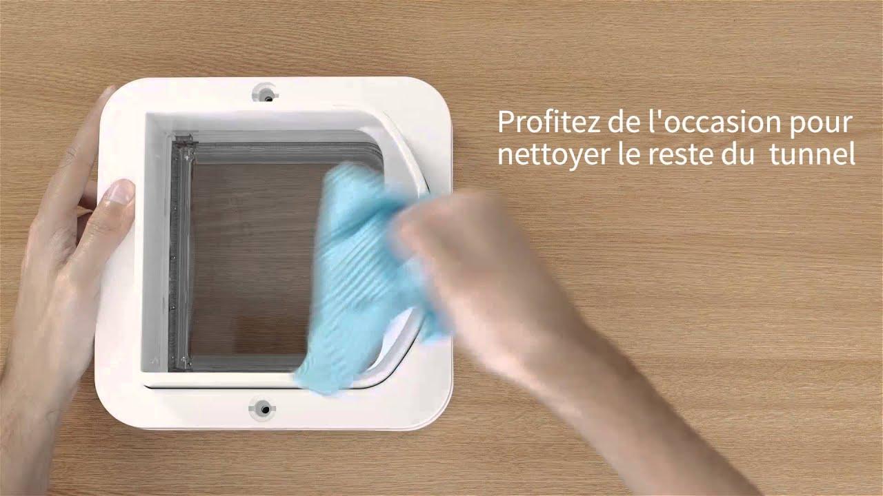 v rifier les capteurs sur votre chati re dualscan puce lectronique sureflap youtube. Black Bedroom Furniture Sets. Home Design Ideas