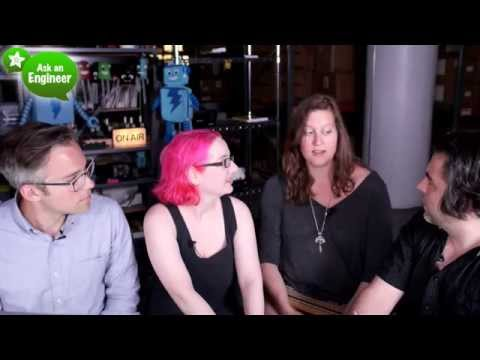 ASK AN ENGINEER guests Danielle Applestone and Zach Supalla 6/10/2015