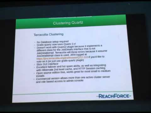 Clustering Quartz with Grails 2 by Ryan Vanderwerf