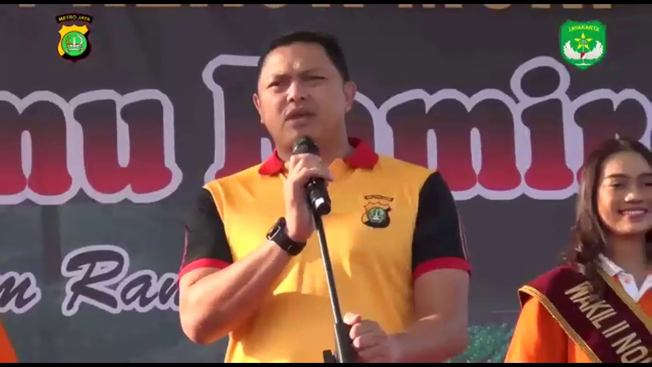 Pemecahan Rekor Muri Tarian Gemu Famire TNI dan Polri Jakarta Barat