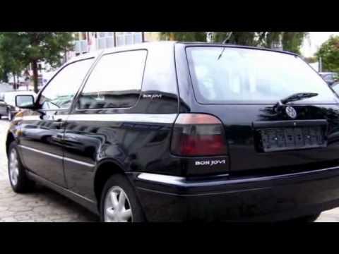 volkswagen golf 1 4 bon jovi 44kw 1997 schwarz youtube. Black Bedroom Furniture Sets. Home Design Ideas