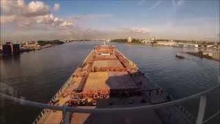 Time Lapse Port Of Rotterdam Mv Elena VE