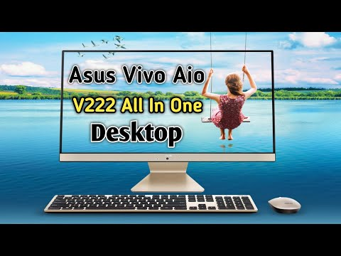The New Asus Vivo Aio V222 All In One Desktop Unboxing | Asus All In One Desktop Unboxing |