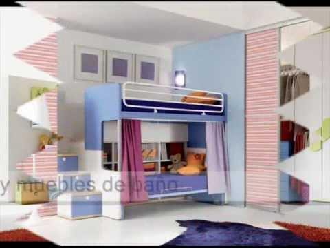 Decoracion de habitaciones infantiles ideas de dormitorios - Decoracion interiores infantil ...