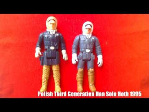 Vintage Star Wars Action Figures- No COO, HK, TW, PBP...